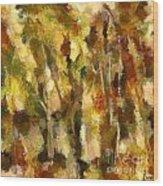 Autumn Impression 2 Wood Print