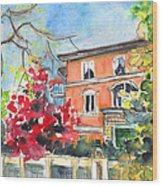 Autumn In Bergamo 01 Wood Print