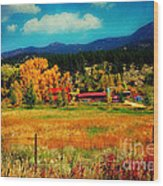 Autumn In Colorado Wood Print