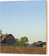 Autumn In Iowa Wood Print