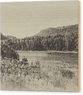 Autumn In Montana In Heirloom Finish Wood Print