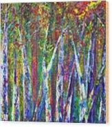 Autumn In Muskoka Wood Print