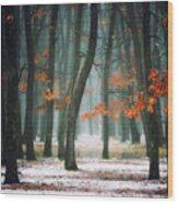 Autumn In My Soul Wood Print
