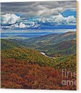 Autumn In Shenandoah Park Wood Print