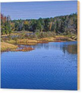 Autumn In The Adirondacks II Wood Print