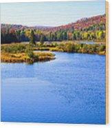 Autumn In The Adirondacks IIi Wood Print