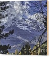 Autumn In The Alps 3 Wood Print