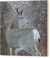 Autumn Muley Wood Print