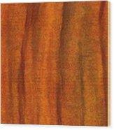 Autumn Number Three Wood Print