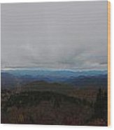 Autumn On The Blue Ridge Wood Print