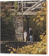 Autumn On The C And O Canal Wood Print