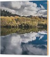 Autumn On The Klamath 11 Wood Print
