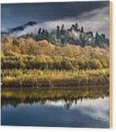 Autumn On The Klamath 6 Wood Print