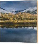 Autumn On The Klamath 7 Wood Print