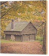Autumn Retreat Wood Print