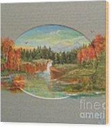 Autumn Reverence Wood Print