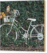 Autumn Ride Wood Print
