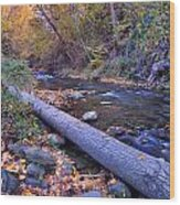 Genil River Wood Print