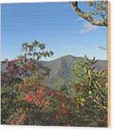 Autumn Smoky Mountains Wood Print