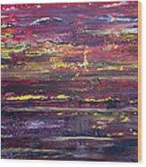Autumn Sunset Along I-70 Wood Print