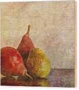 Autumn Trio  II Wood Print