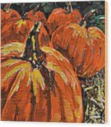 Autumn Wood Print by Vickie Warner