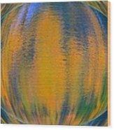 Autumn Vision Reflections Wood Print