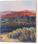 Autumn Vista Wood Print