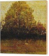 Autumn Wardrobe Wood Print
