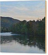 Autumnal Allegheny Wood Print