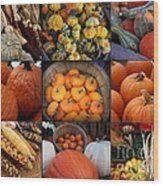 Autumn's Bounty Wood Print