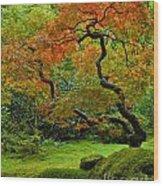 Autumn's Paintbrush Wood Print