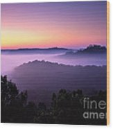 Auxier Ridge Dawn - Fm000023 Wood Print