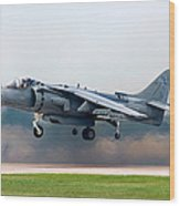Av-8b Harrier Wood Print