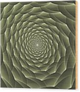 Avacado Vertigo Vortex Wood Print