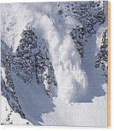 Avalanche I Wood Print by Bill Gallagher