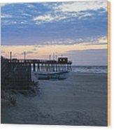 Avalon - Sunrise On 32nd Avenue Wood Print