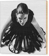 Avant Garde Fashion Wood Print