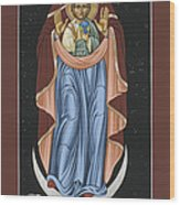 Ave Maris Stella  Hail Star Of The Sea 044 Wood Print