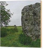 Avebury Megalith Wood Print