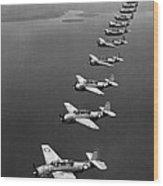 Avenger Bombers, 1943 Wood Print