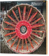 Avery Tractor Tire Wood Print