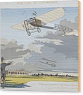 Aviation Meeting At Champagne Wood Print