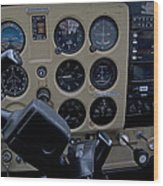 Aviation Near Jekyll Island Wood Print
