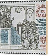 Avicenna, (ibn-sina) Wood Print