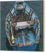 Avila Skiff Wood Print