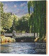 Avlon River Wood Print