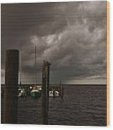 Avon Harbor Storm 7/12 Wood Print