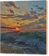 Mother Natures Awakening  3 7/26 Wood Print