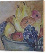 Avonelle's Fruit Bowl Wood Print